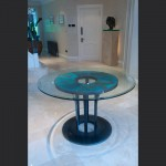 Hall-with-bespoke-patinated-copper-table