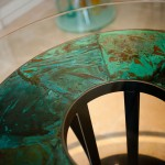detail-of-copper-and-steel-table
