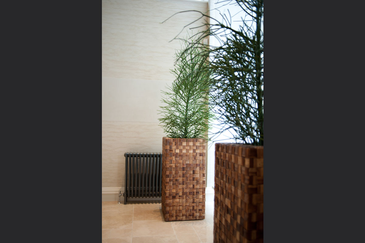 woven-rafia-planters.jpg - London Town House Residential Gallery - Definitive1 Interior Design
