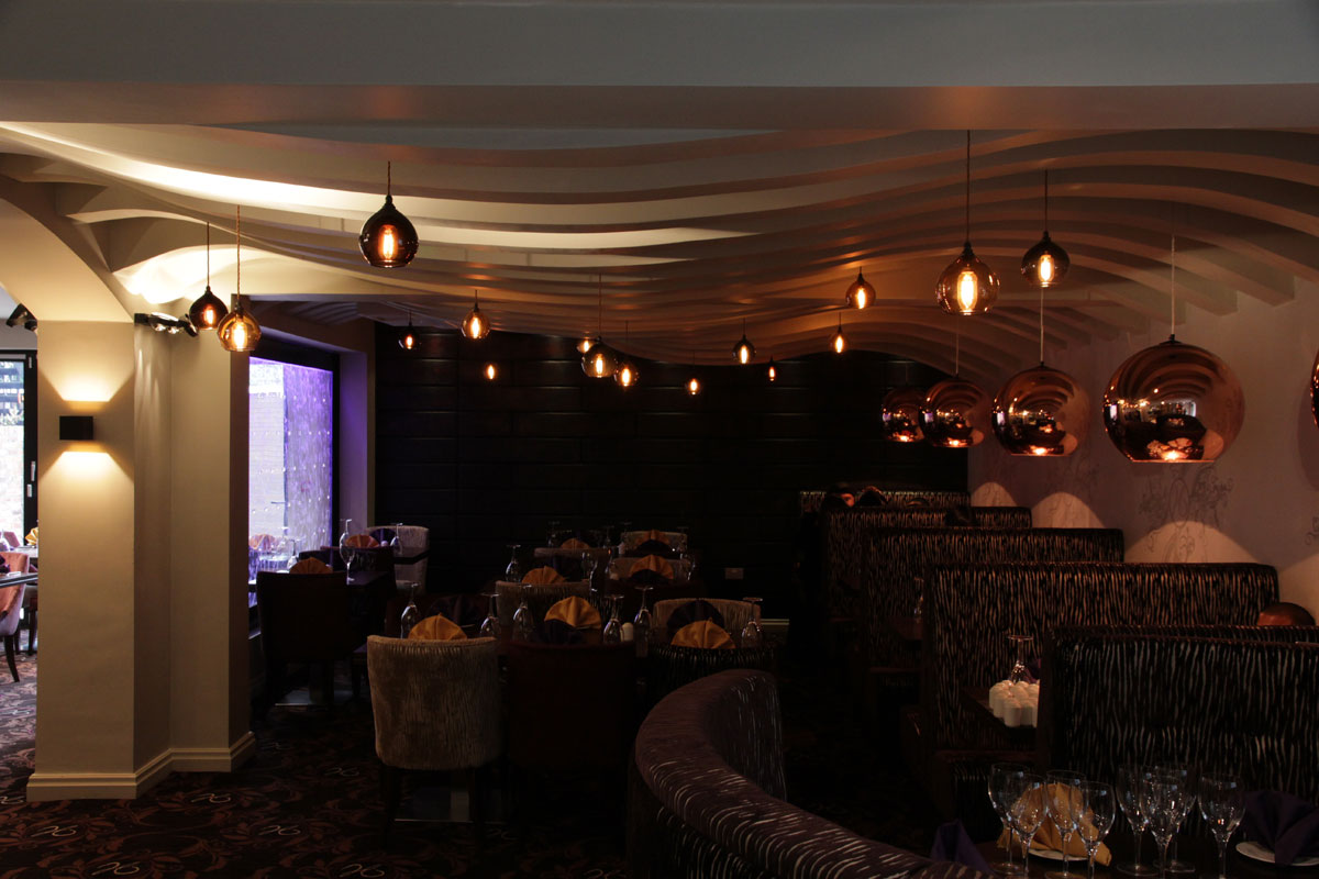 Holdi-restaurant-with-wave-ceiling.jpg - Holdi Restaurant Commercial Gallery - Definitive1 Interior Design