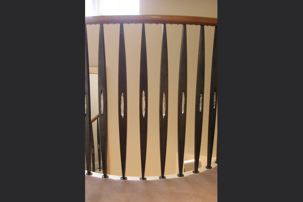 detail-of-landing-newel-posts.jpg - Staircases Bespoke Gallery - Definitive1 Interior Design