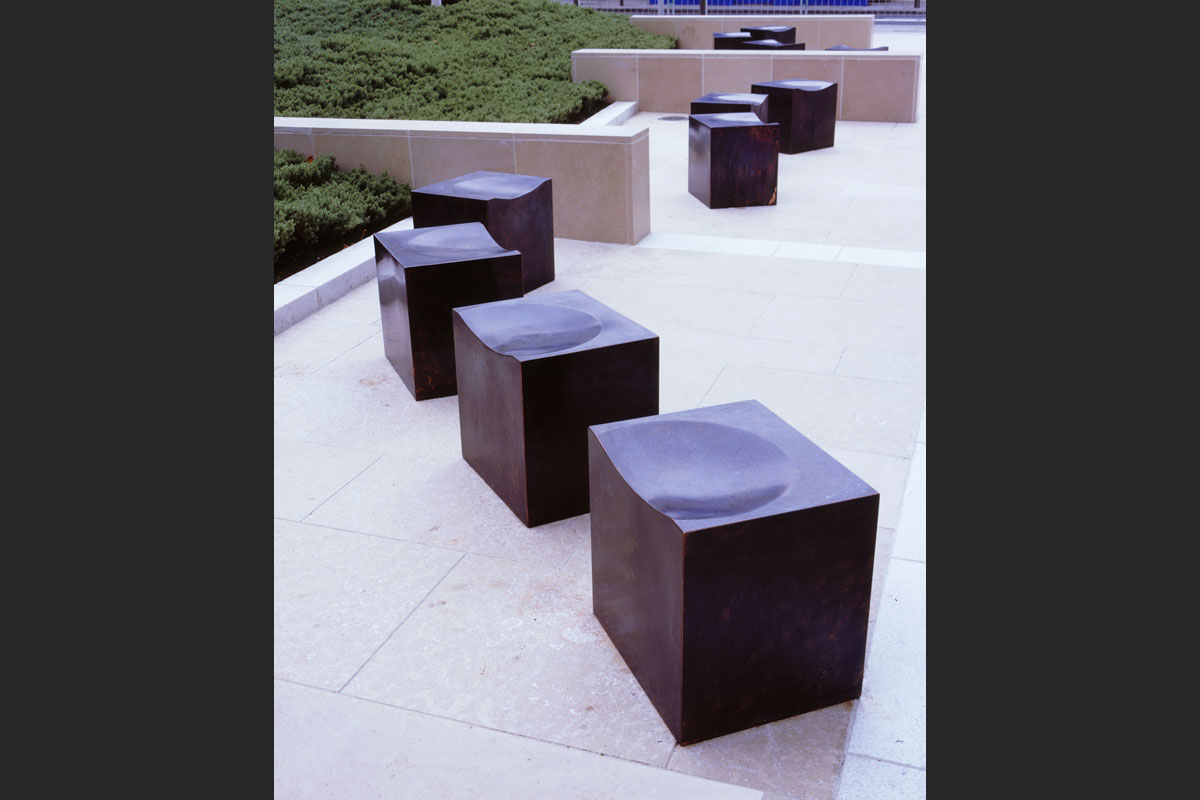 Cube-seats-St-Peters-square-Liverpool.jpg - Seating Bespoke Gallery - Definitive1 Interior Design